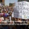 El rol del poder judicial venezolano en el marco de la corrupción y los derechos humanos