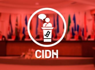 Laura Louza en el 171 período de sesiones de la CIDH
