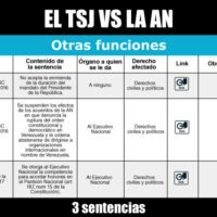 El TSJ contra otras funciones de la Asamblea Nacional