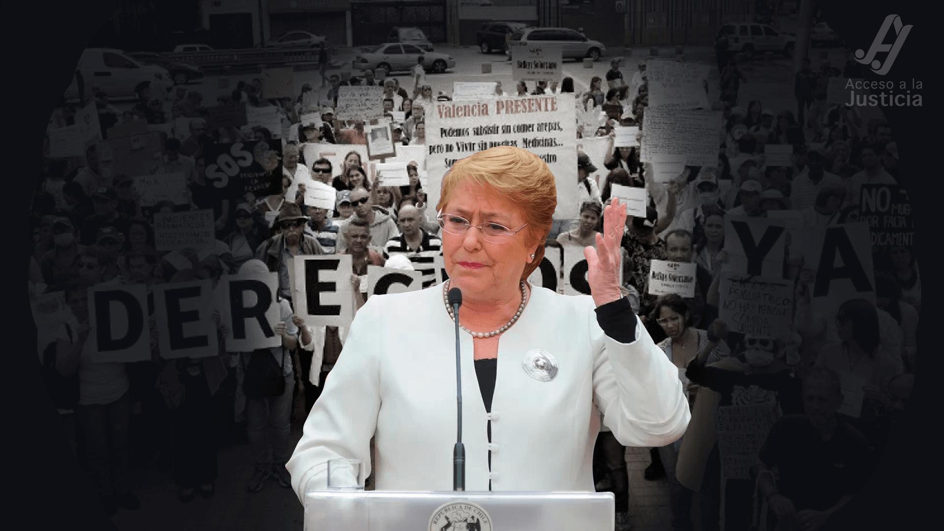 Señora Bachelet, la crisis humanitaria es previa a las sanciones internacionales