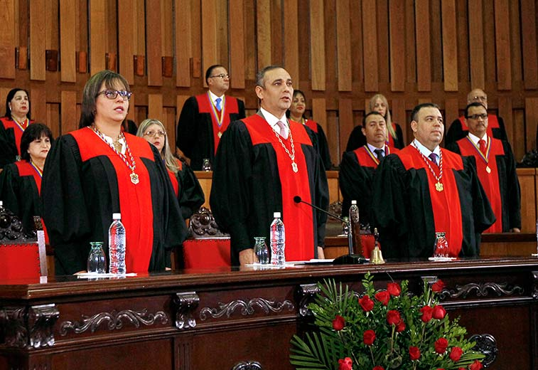 """El TSJ declara improcedente demanda de nulidad contra designación de magistrados """"exprés"""""""