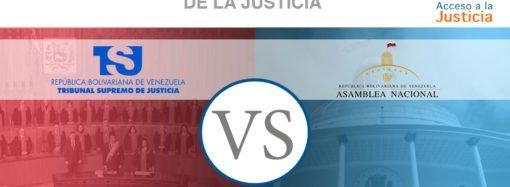 El TSJ vs. la AN