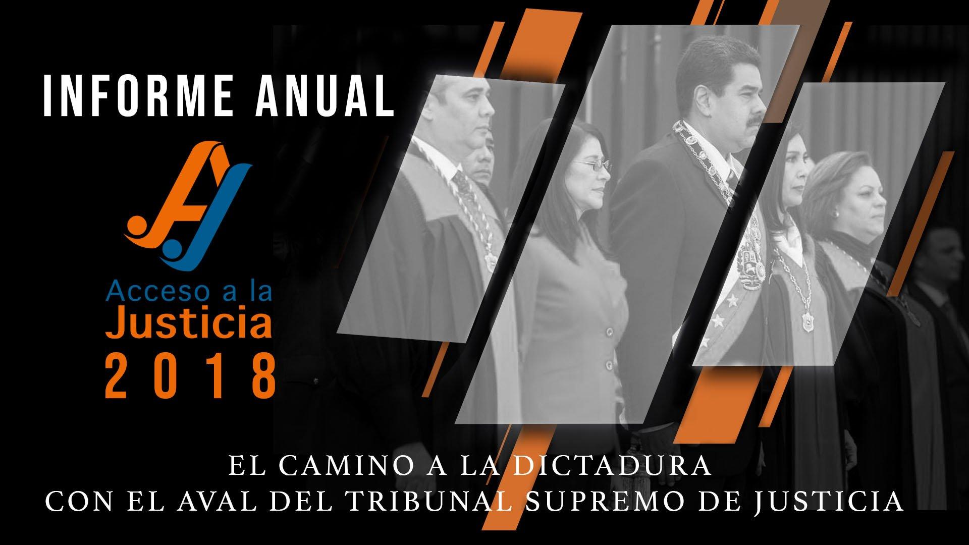 Informe anual 2018 de Acceso a la Justicia
