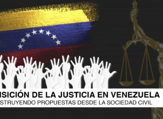 Proponen dos etapas con dos modelos para aplicar la justicia transicional en Venezuela