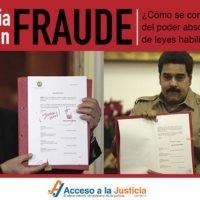 La historia de un fraude: ¿cómo se construyó la toma del poder absoluto por medio de leyes habilitantes?