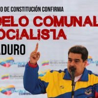 Anteproyecto de Constitución confirma modelo comunal de Maduro