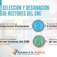 Relegitimación del Consejo Nacional Electoral en cuatro pasos