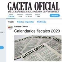 Calendarios Fiscales 2020