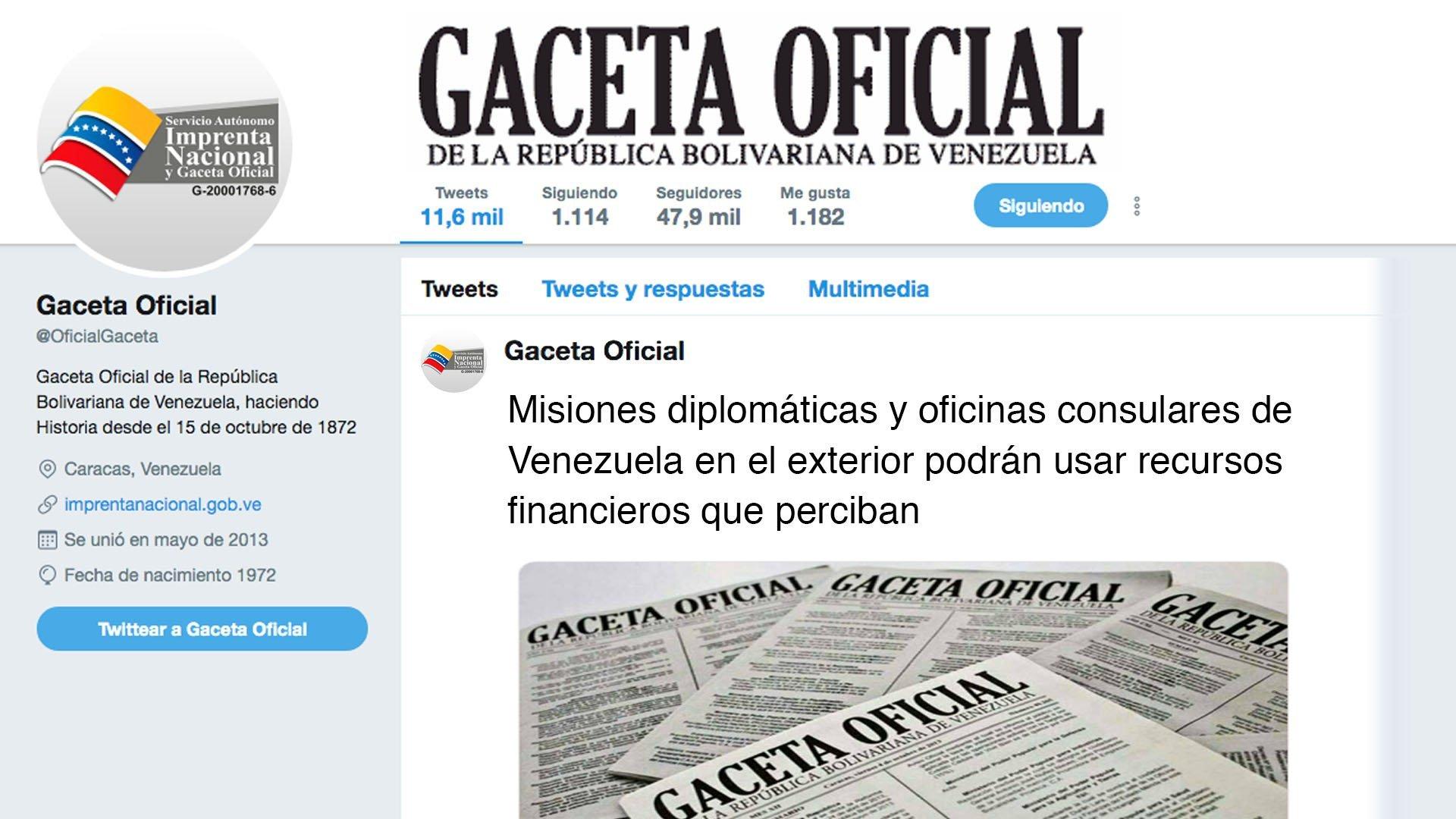 Misiones diplomáticas y oficinas consulares de Venezuela en el exterior podrán usar recursos financieros que perciban