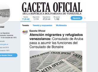 Atención migrantes y refugiados venezolanos: Consulado de Aruba pasa a asumir las funciones del Consulado de Bonaire