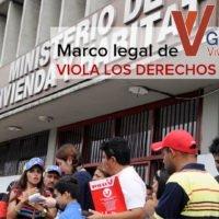 El marco legal de la Gran Misión Vivienda Venezuela viola los derechos humanos