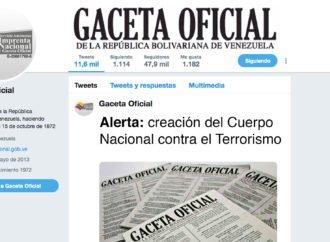Alerta: creación del Cuerpo Nacional contra el Terrorismo