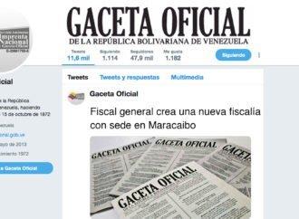 Fiscal general crea una nueva fiscalía con sede en Maracaibo