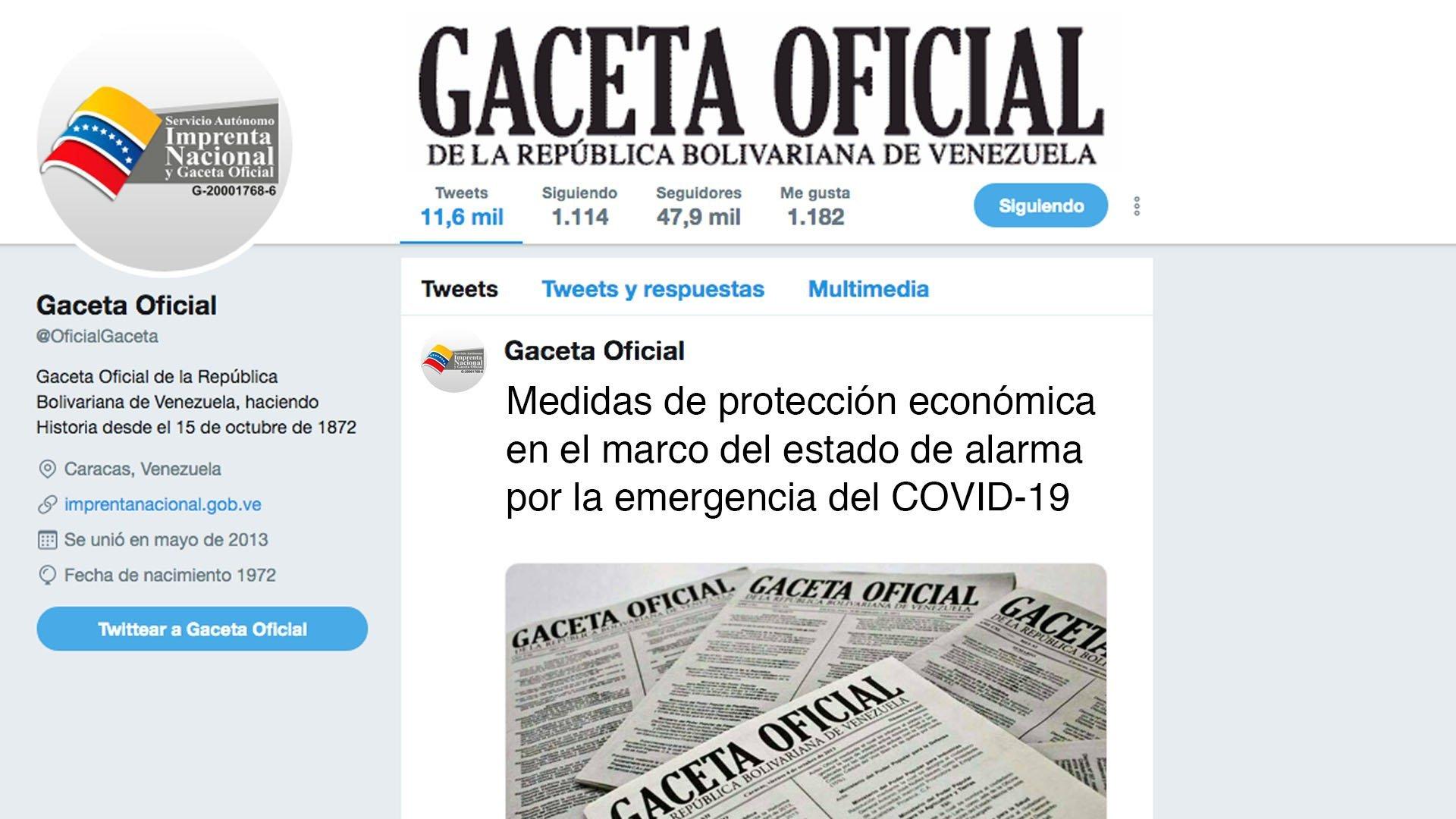 Medidas de protección económica en el marco del estado de alarma por la emergencia del COVID-19