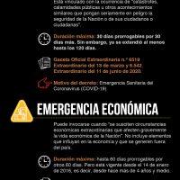 Alarma y emergencia económica: la excepción en Venezuela