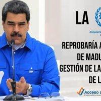 La OIT reprobaría al régimen de Maduro por su gestión de la pandemia de la COVID-19