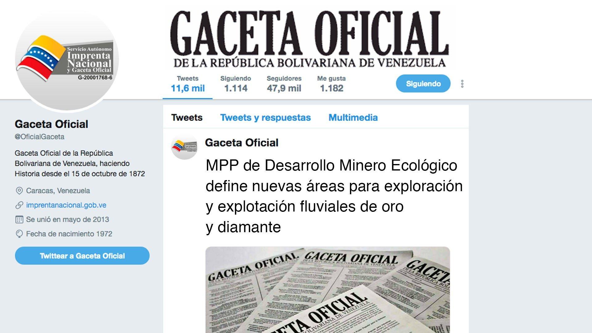 MPP de Desarrollo Minero Ecológico define  nuevas áreas para la exploración y explotación fluviales de oro y diamante