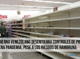 El Gobierno venezolano desentierra controles de precios en plena pandemia, pese a los riesgos de hambruna