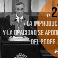 En 2019 la improductividad y la opacidad se apoderaron del Poder Judicial