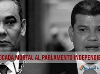 Estocada mortal al Parlamento independiente
