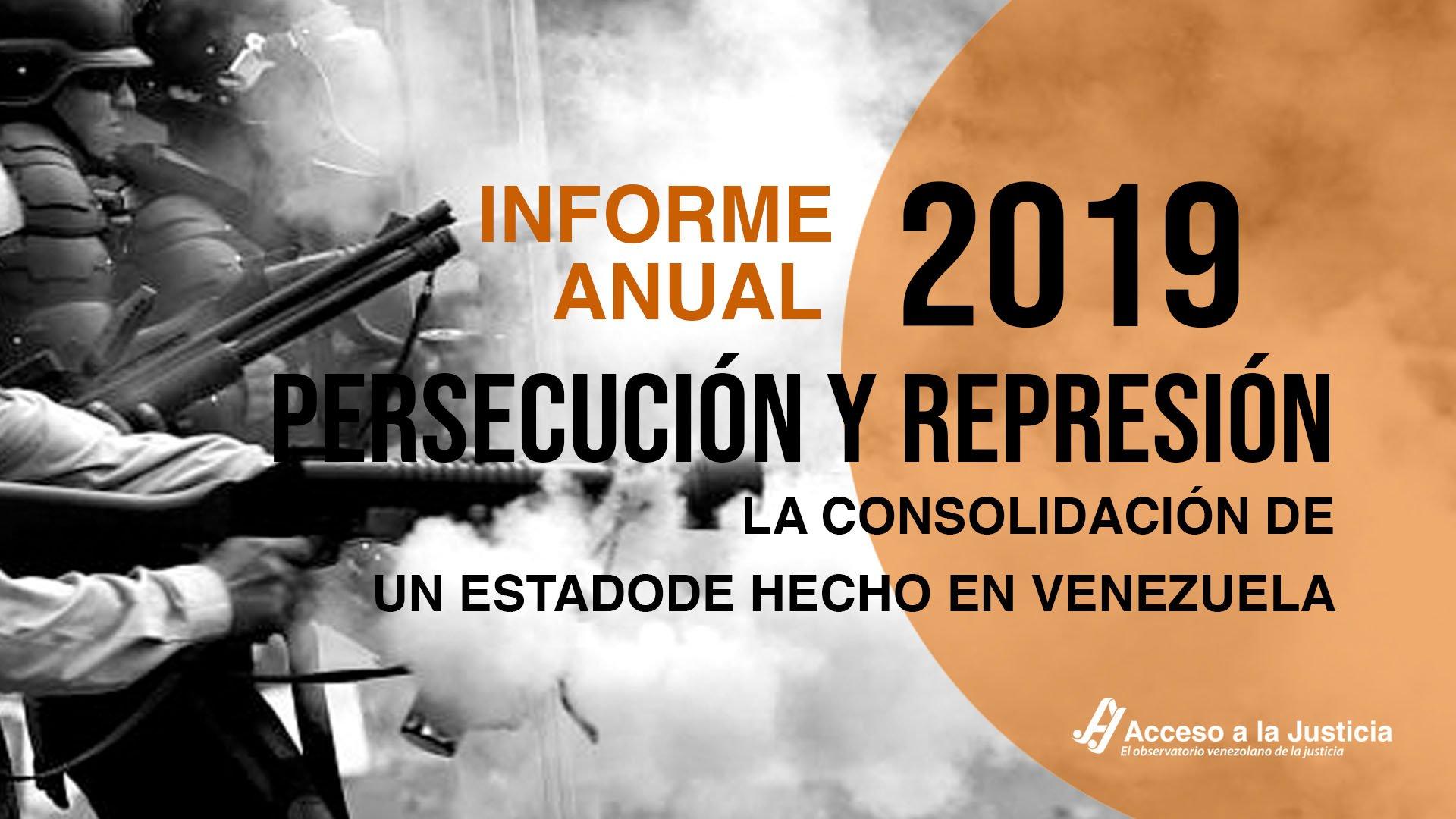 Informe anual 2019. La consolidación de un estado de hecho en Venezuela