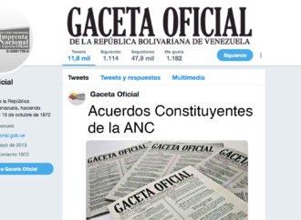 Acuerdos Constituyentes de la ANC