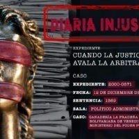 Cuando la justicia avala la arbitrariedad