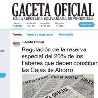 Regulación de la reserva especial del 20% de los haberes que deben constituir las Cajas de Ahorro