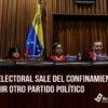 La Sala Electoral sale del confinamiento para intervenir otro partido político